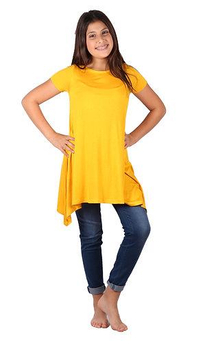 Yellow Comfy Swing Dress