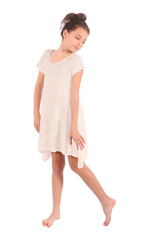 Ivory Comfy Swing Dress