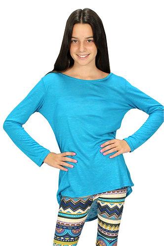 Sea Blue Long Sleeve