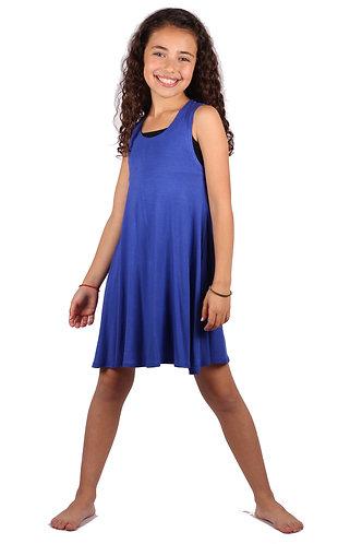 Royal Blue Sleeveless Sundress