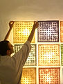 lakir modular wall hanging paper light