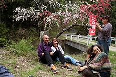 יזהר נוימן ומשתתפות הטיול ליפן