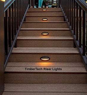 Renewit decks michigan lighting timbertech deck lights mozeypictures Image collections