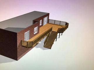 3D Deck Designer