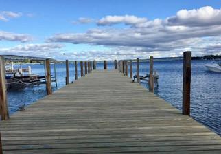 New Dock in Harbor Springs