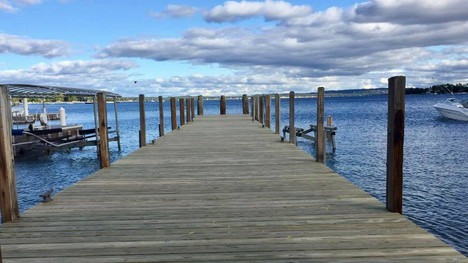 New Dock in Harbor Springs