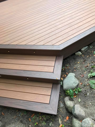 Wolf Rosewood PVC Deck