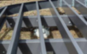 trex steel decking