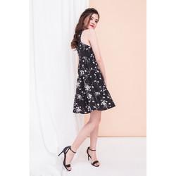 taya-floral-ruffle-hem-dress-in-black-3.