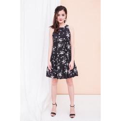taya-floral-ruffle-hem-dress-in-black-2.