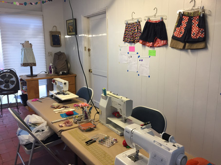 NEW WORKROOM