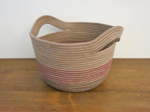 Large Two-Handle Basket