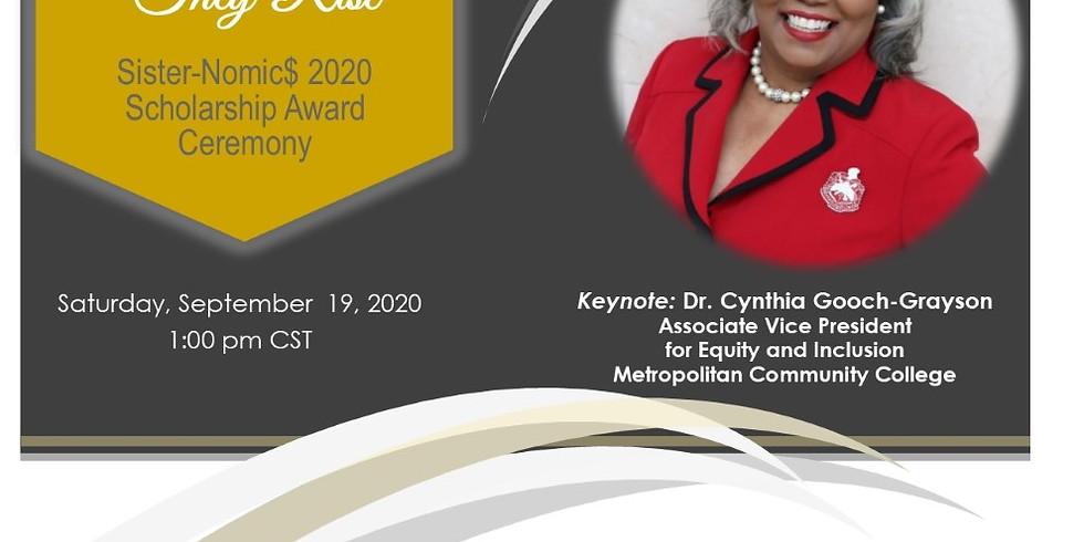Sisternomics 2020 Scholarship Awards Ceremony