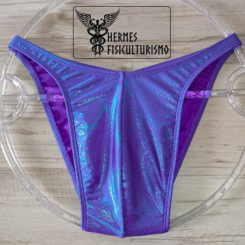 Sunga Azul c/ Roxa Camaleão