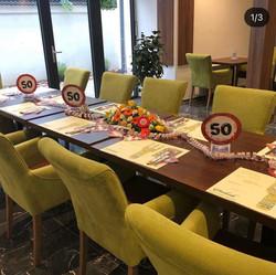 Geburtstagsfeier im Restaurant Ambiente Fischamend