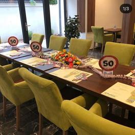 Restaurant Ambiente Geburtstagsfeier