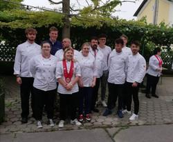 Gruppenbild der Kitchen Youngsters bei VKÖ Sitzung