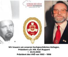 VKÖ-Präsident a.D. KM Karl Ruppert verstorben