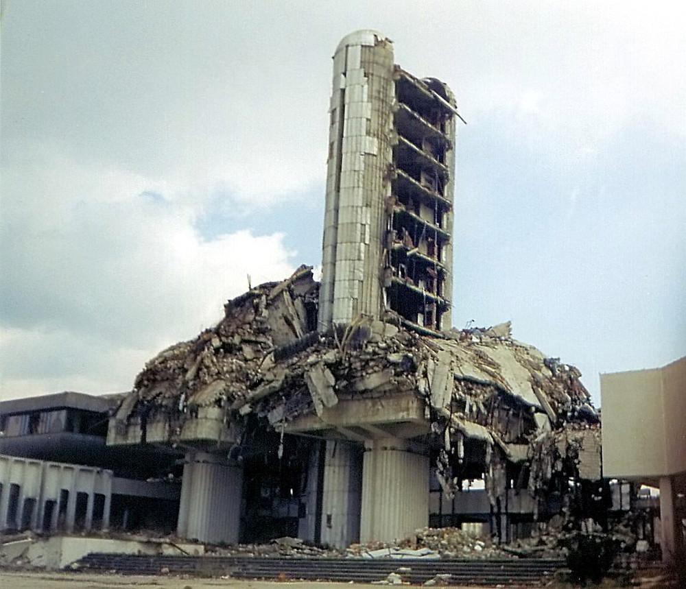 Media Center di Sarajevo distrutto, Hedwig Klawutke