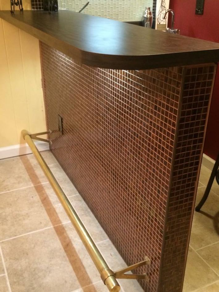 Custom bar counter
