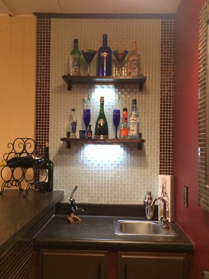 Custom sink area