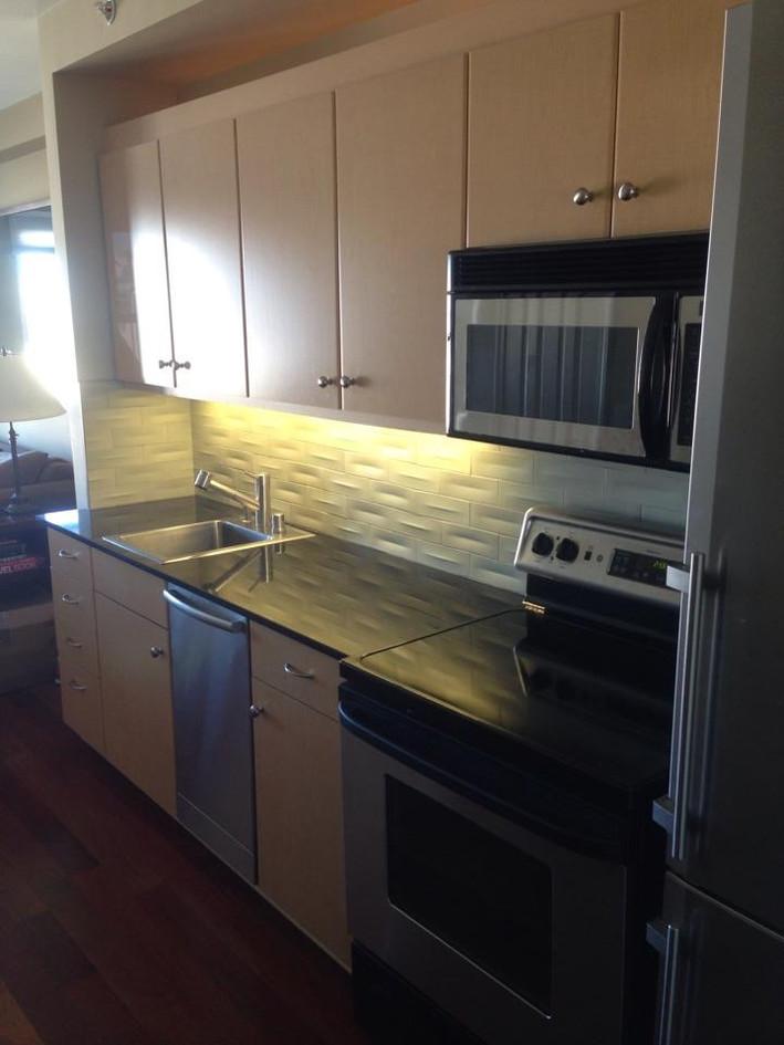 Singe-wall kitchen remodel