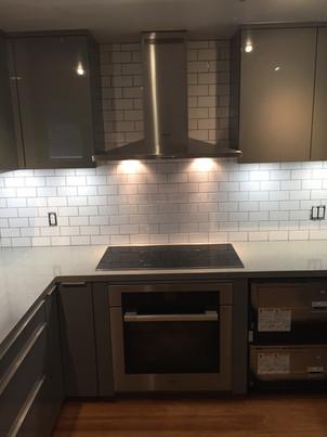 Minimalist kitchen details