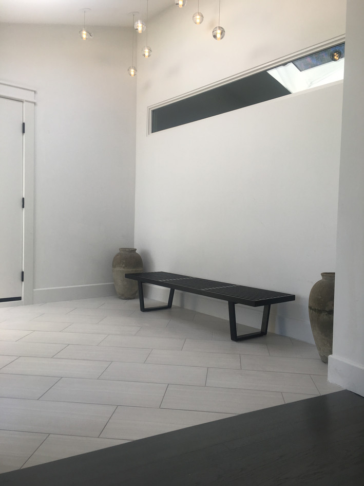 Minimalist entryway