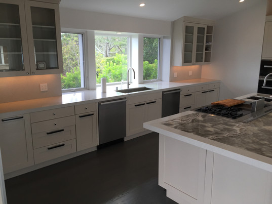 Large galley kitchen remodel