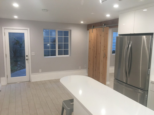 Small kitchen and living space