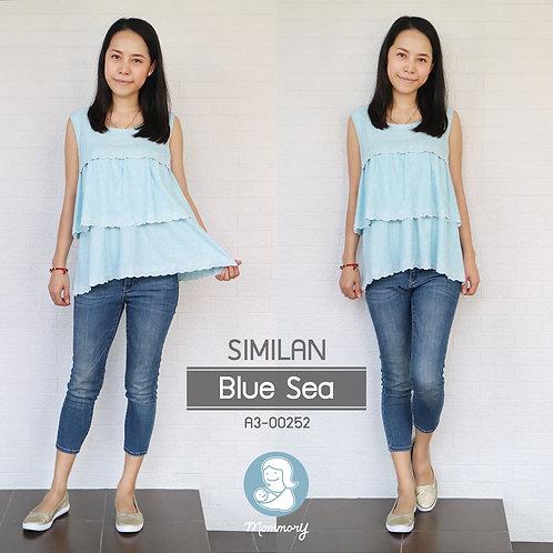 Similan (Blue Sea)   - เสื้อแขนกุดให้นม