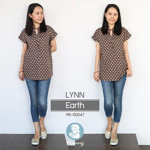 Lynn (Earth)  - เสื้อให้นม แบบกระดุมหน้า
