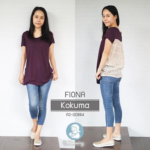 Fiona (Kokuma) - เสื้อให้นม แบบแหวกข้าง