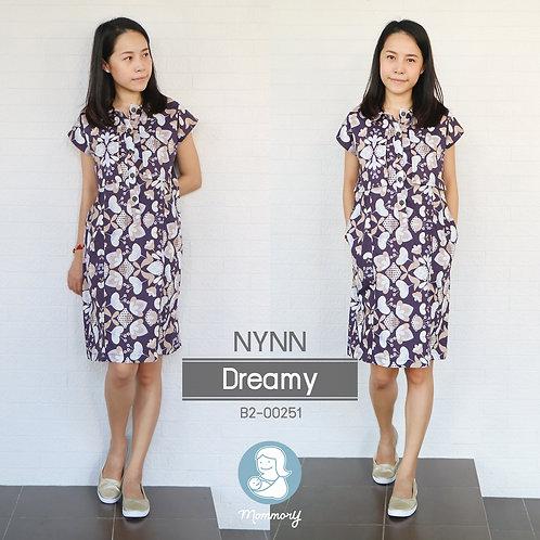 Nynn (Dreamy)  - ชุดให้นมแบบซิปซ่อน