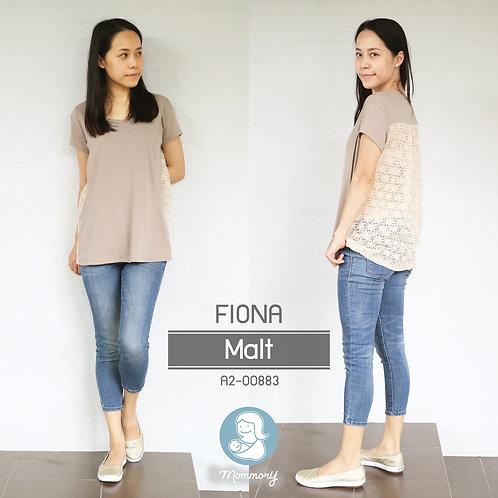 Fiona (Malt)   - เสื้อให้นม แบบแหวกข้าง