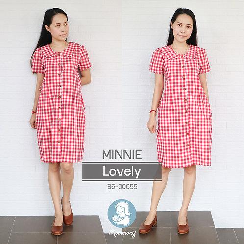 Minnie (Lovely)  - ชุดให้นม แบบกระดุมหน้า