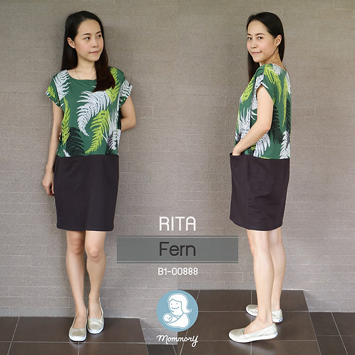 Rita (Fern)  - เสื้อให้นม/ชุดให้นม แบบแหวก