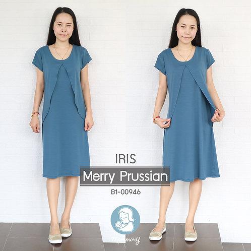 Iris (Merry Prussian) - เสื้อให้นม/ชุดให้นม แบบแหวก