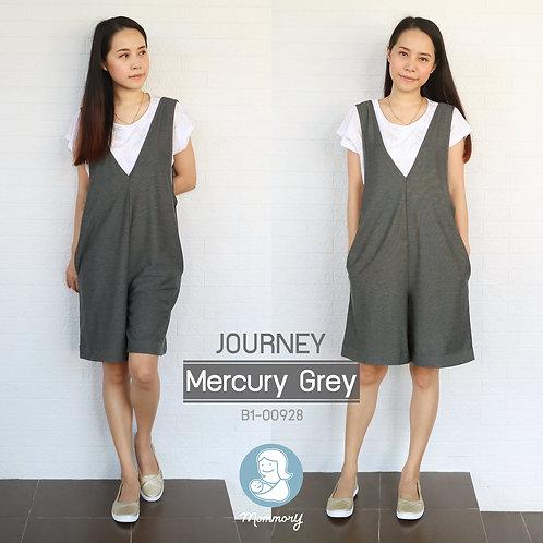 Journey (Mercury Grey)  -  ชุดให้นม แบบแหวก