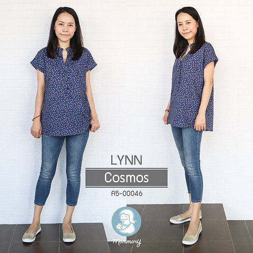 Lynn (Cosmos) - เสื้อให้นม แบบกระดุมหน้า