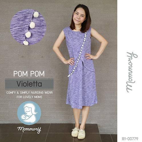 Pom Pom (Violetta) - เสื้อให้นม/ชุดให้นม แบบแหวก