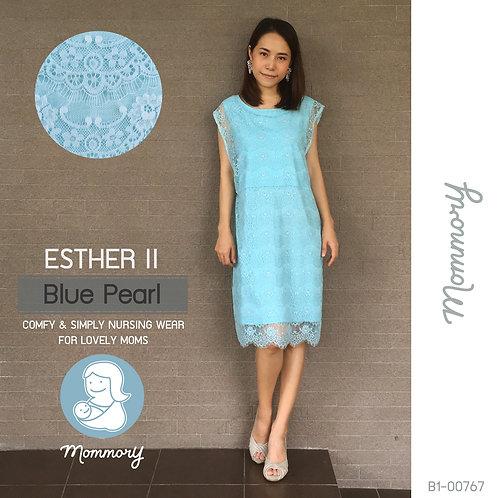 Esther II (Blue Pearl) - เสื้อให้นม/ชุดให้นม