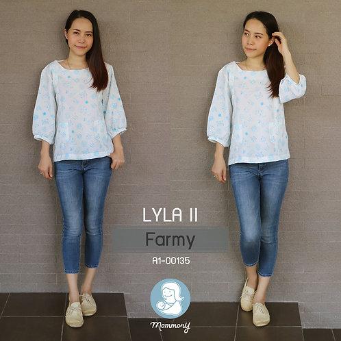 Lyla II (Farmy) - เสื้อให้นม แบบซิปซ่อน