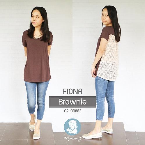 Fiona (Brownie)  - เสื้อให้นม แบบแหวกข้าง