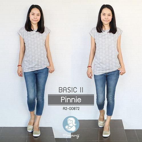 Basic II (Pinnie)  - เสื้อให้นม แบบแหวกข้าง