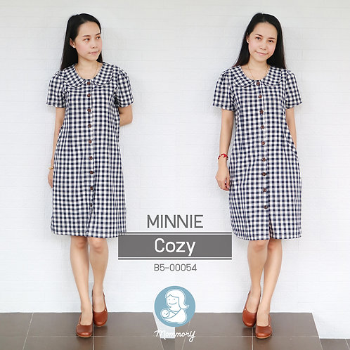 Minnie (Cozy)  - ชุดให้นม แบบกระดุมหน้า