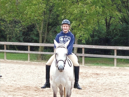 How to get a lazy horse movin' | Guest post by 'Equestrian Olivia'