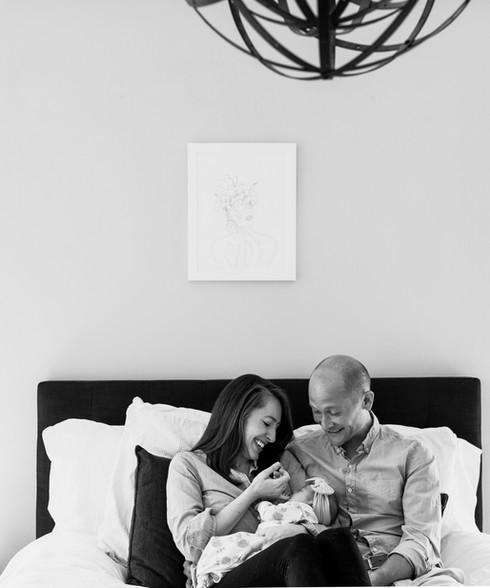 Libby Bianchi Photography, newborn photo session, in-home photo session, lifestyle newborn photo session, DC photographer.