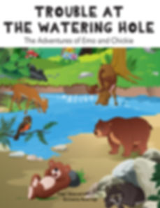 Trouble at the Watering Hole Book Cover