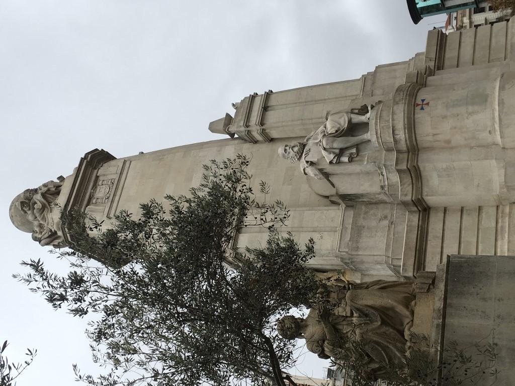 STATUA DI MIGUEL DE CERVANTES